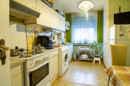 Ausreichend groß, um auch noch einen Essplatz unterzubringen: Ihre zukünftige Küche