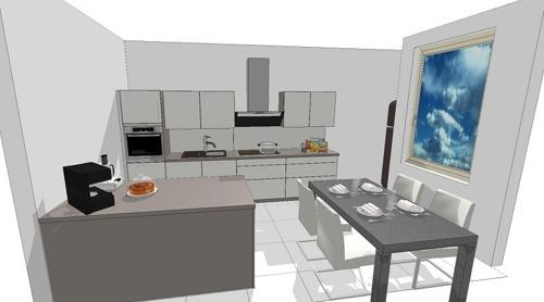 Ausschnitt aus Küchenplanung