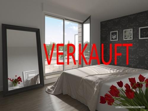 Ausschnitt Schlafzimmer Marikierung verkauft