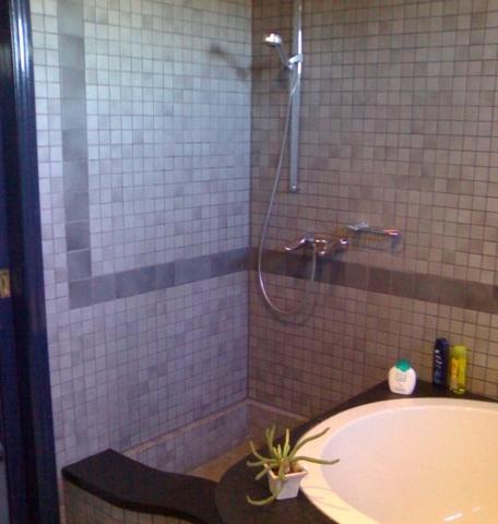 Ausschnitt Dusche