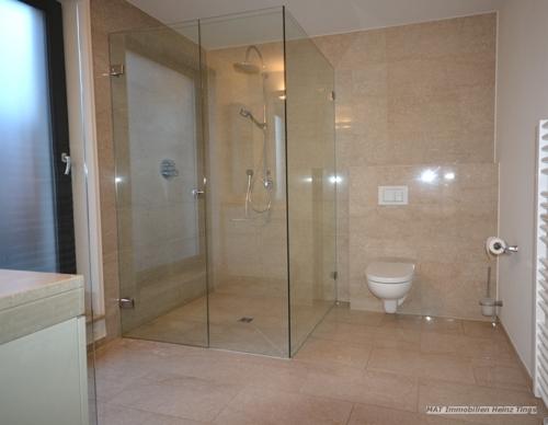 Ausschnitt Duschbereich