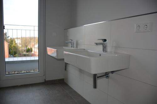 Ausschnitt Badezimmer