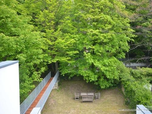 Ausblick Gartenseite