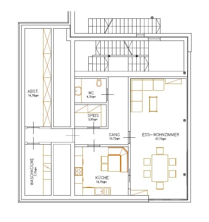 Variante - Erdgeschoss / Piano terra