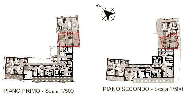 Villetta schiera n. 2 - primo e secondo piano