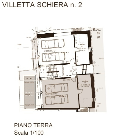 Villetta schiera n. 2 - piano terra