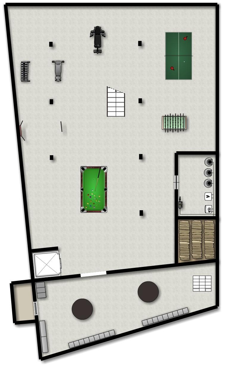 2. Untergeschoss - 2. interrato