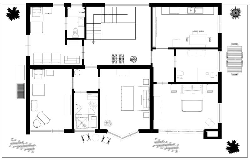 Obergeschoss - Piano superiore
