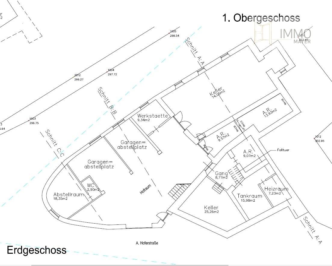 Erdgeschoss | Piano terra