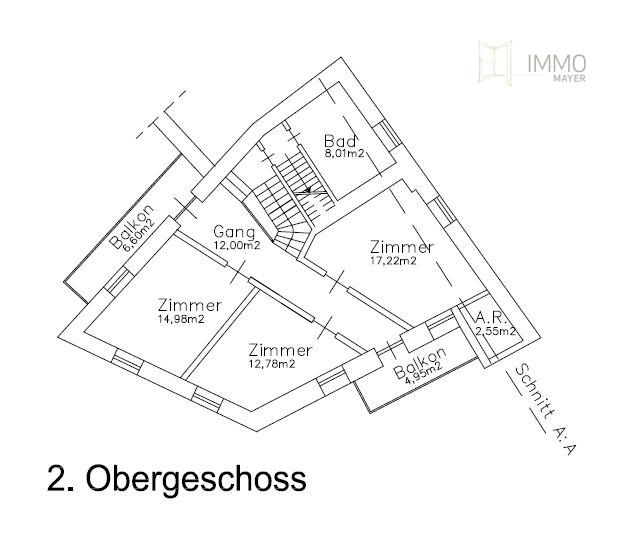 2. Obergeschoss | 2. piano superiore