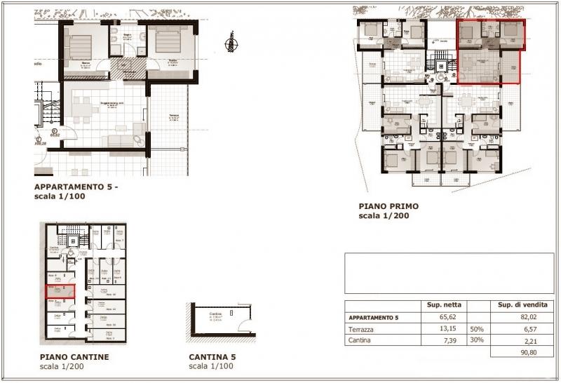 4-Zimmerwohnung - Quadrilocale