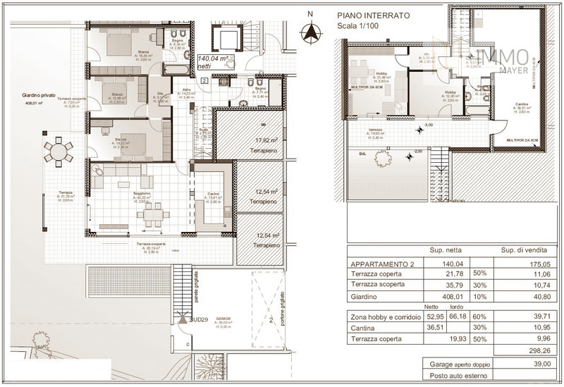 Wohnung 2 - appartamento 2