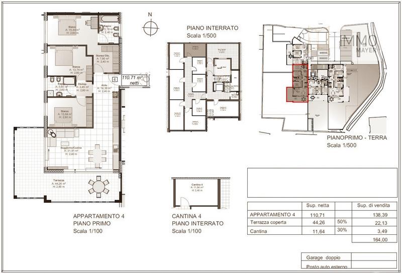 Wohnung 4 - appartamento 4