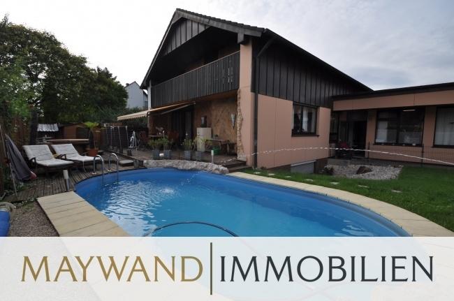 Verkauft 1-2 Familienhaus mit Swimmingpool und Doppelgarage in 67071 Ludwigshafen von Maywand Immobilien GmbH