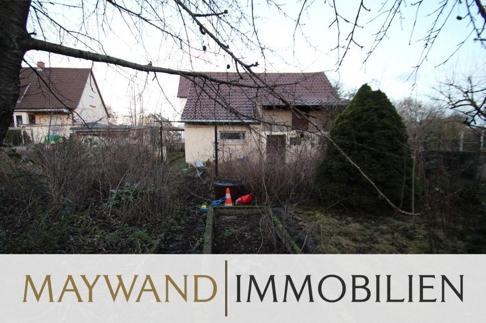 VERMIETET Kleines 1-FH mit großem Garten in Mannheim Mallau in 68199 Mannheim von Maywand Immobilien GmbH