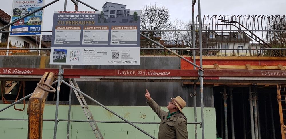 Wir haben mit dem Bau angefangen und freuen uns auf Ihr besuch  von VERKAUFT | Maywand Immobilien GmbH