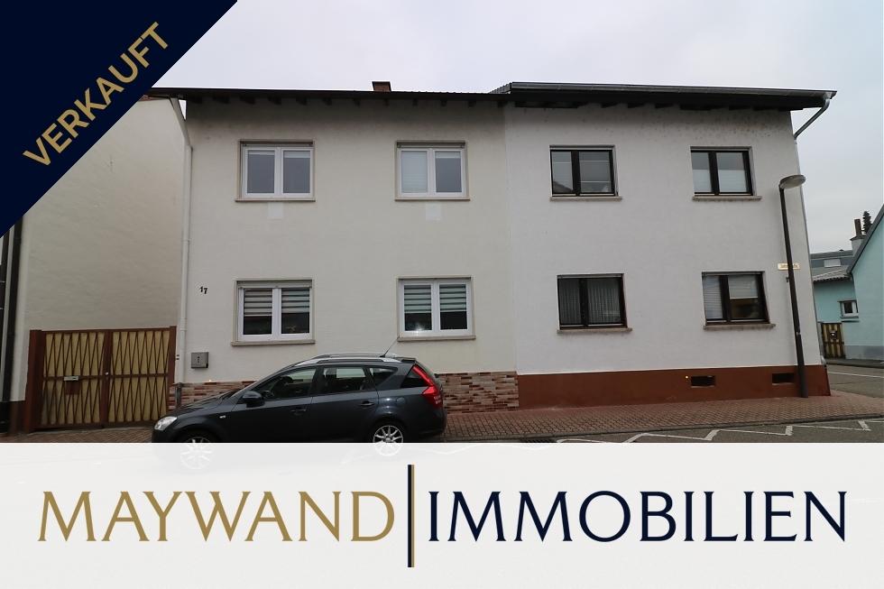 Verkauft ***Top Einfamilienhaus mit schönem Garten und Garage*** in 68766 Hockenheim von Maywand Immobilien GmbH