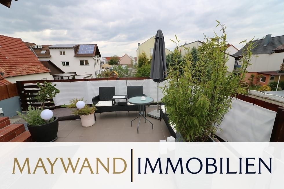 VERMIETET ***Top Angebot: Maisonettewohnung mit Garten und Dachterrasse*** in 68775 Ketsch von Maywand Immobilien GmbH