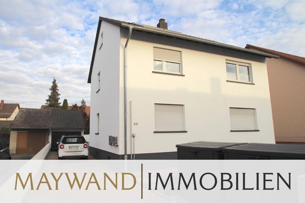 Verkauft ***Wunderschönes Zweifamilienhaus *** mit großem Garten und Garage in 68766 Hockenheim von Maywand Immobilien GmbH