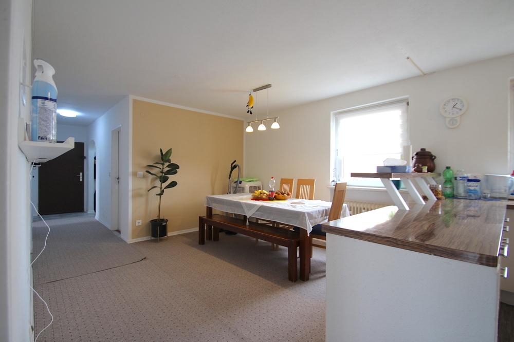 Essbereich & Diele von VERKAUFT Gepflegte 4,5-ZKB Wohnung mit Ausblick über den Dächern von Hockenheim | Maywand Immobilien GmbH