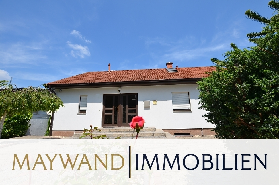VERKAUFT*****Traumhaftes Einfamilienhaus mit großem Garten in bester Wohnlage***** in 69242 Mühlhausen von Maywand Immobilien GmbH