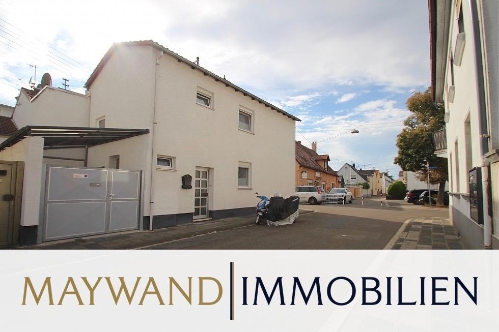 VERKAUFT Top gepflegtes kleines Häuschen mit EBK und Carport in ruhiger Wohnlage in 67069 Ludwigshafen von Maywand Immobilien GmbH