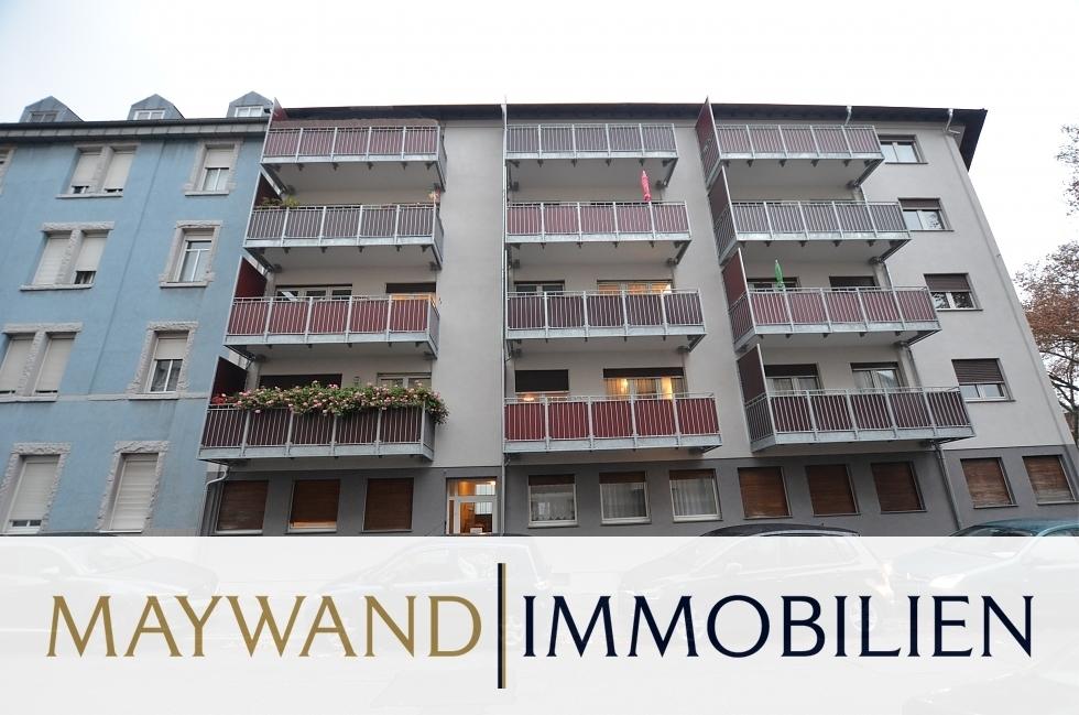 Kapitalanleger aufgepasst: 2-ZKB Wohnung mit Balkon in 68219 Mannheim von Maywand Immobilien GmbH
