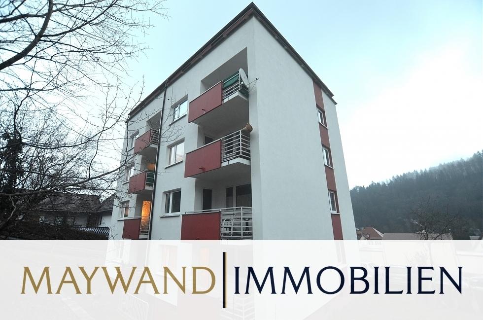 VERKAUFT TOP ANGEBOT: 3-ZKB Wohnung mit Balkon und PKW-Stellplatz in 69434 Hirschhorn von Maywand Immobilien GmbH
