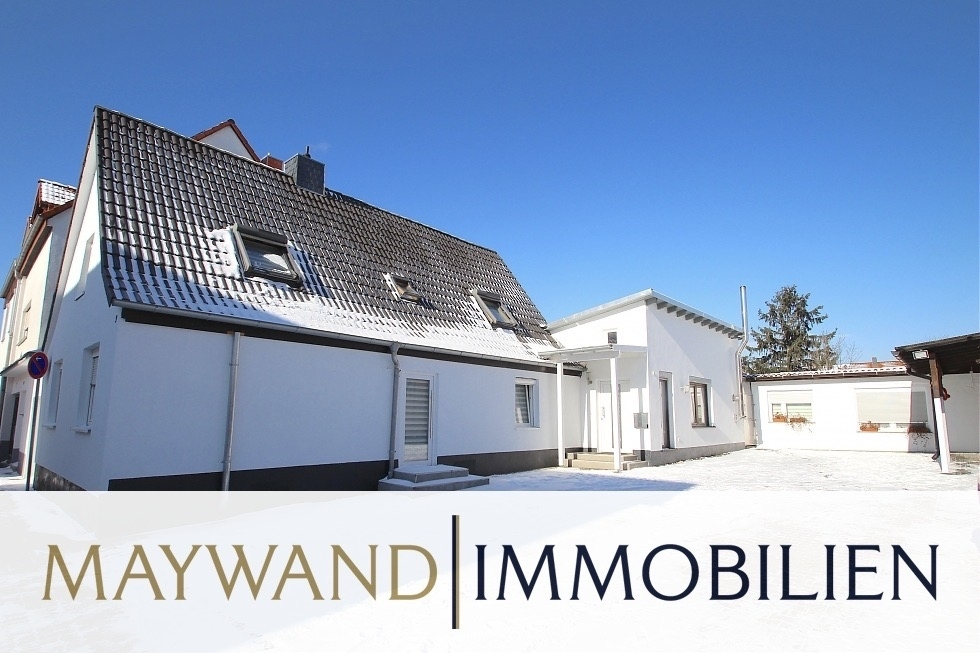 RESERVIERT Wunderschönes 1-Familienhaus mit großem Garten und Terrasse in ruhiger Wohnlage in 68766 Hockenheim von Maywand Immobilien GmbH