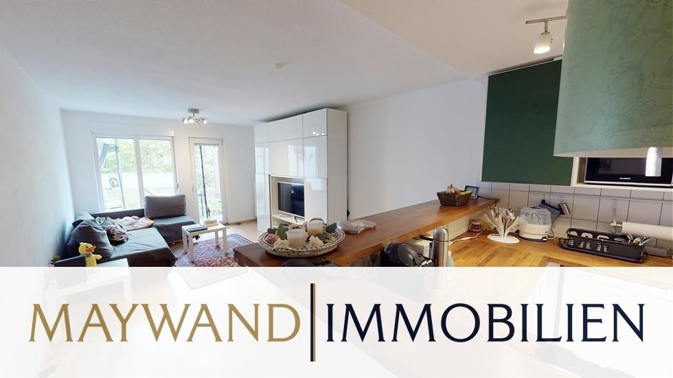 VERKAUFT Wunderschöne 2-ZKB-Wohnung mit Terrasse und Garten in 69214 Eppelheim von Maywand Immobilien GmbH