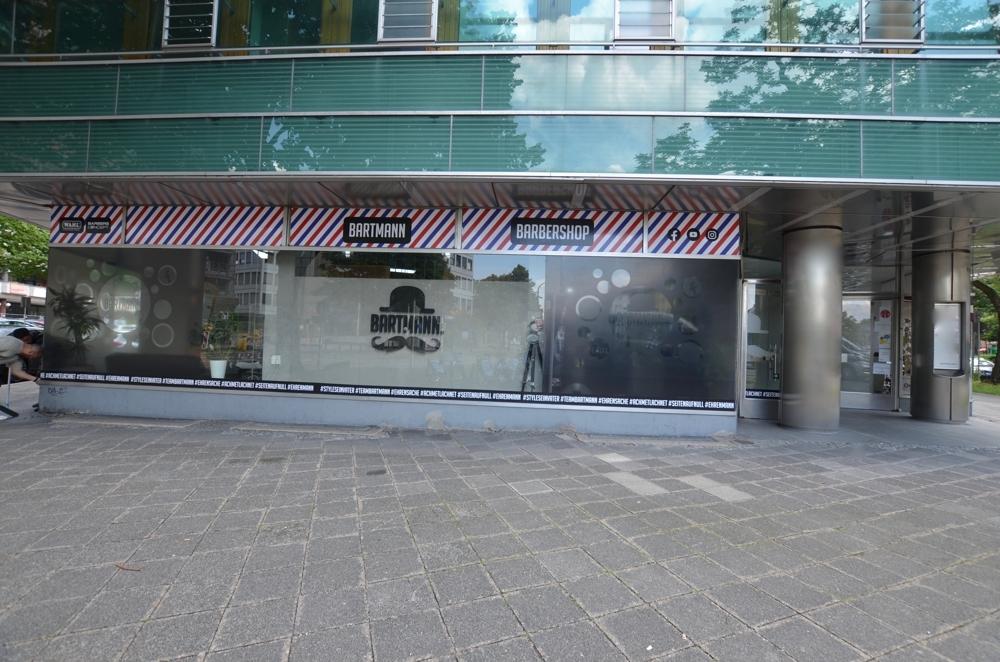 Außenansicht  von Lukrativer Friseursalon in zentraler Lage Mannheims zu vermieten | Maywand Immobilien GmbH