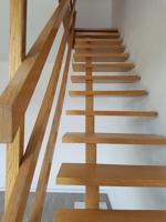 Treppe zum Dachgeschoß