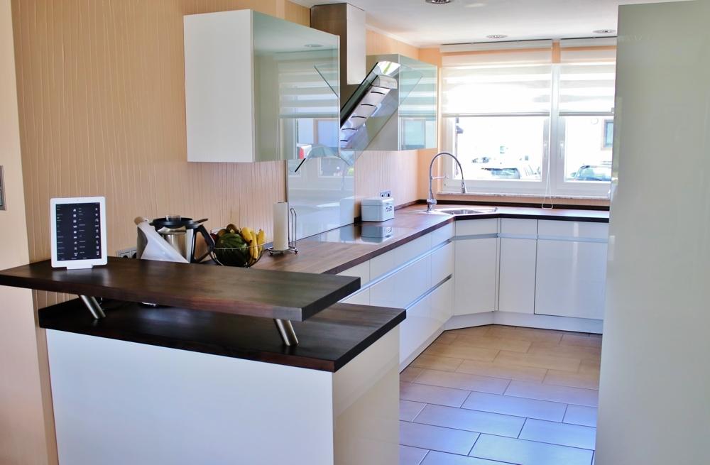 Küche topmodern...