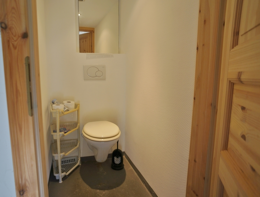 WC im Anbau