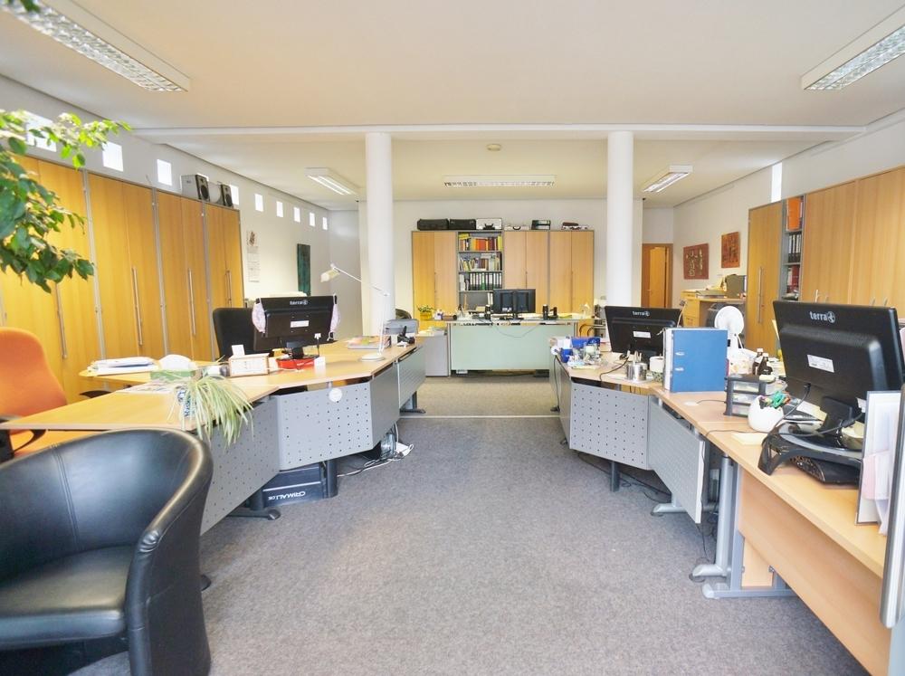 Büro-Ladenfläche