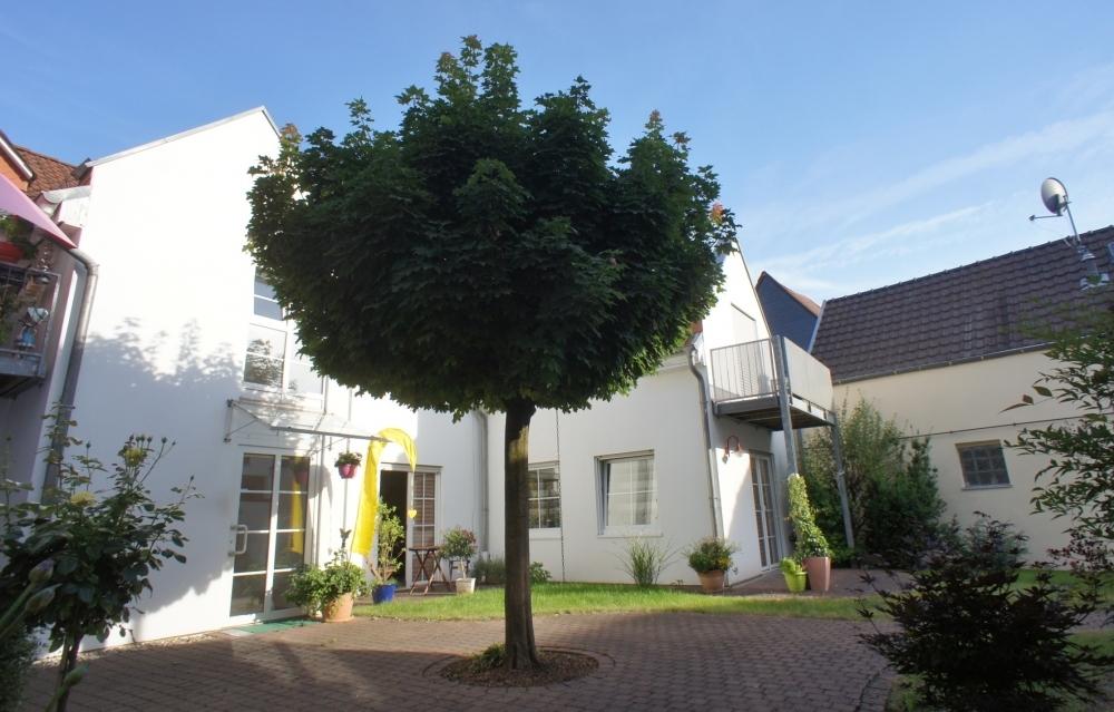 Idyllischer Innenhof...