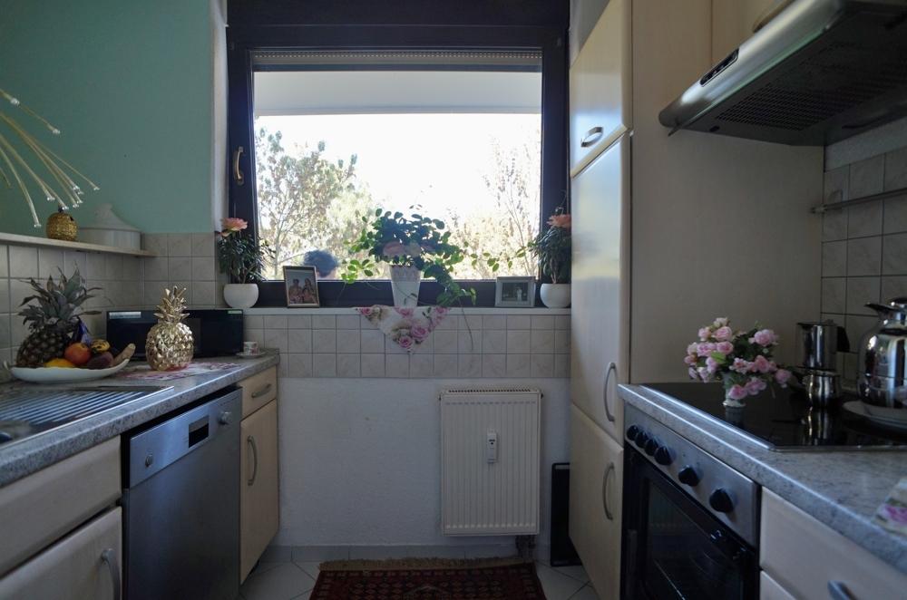 Die Küche ist klein...
