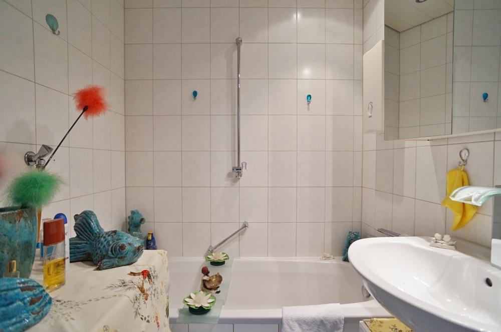 Zeitloses Badezimmer