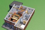 Isometrie Erdgeschoss