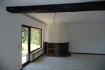 Wohnzimmer mit antikem Eichenbalken