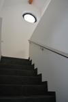 Treppe zum Obergeschos