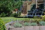 2. Terrasse im Garten