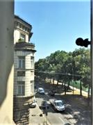 Blick zur Straße