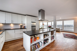 Küche mit Blick
