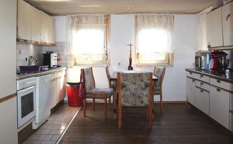 Platz für die Küche