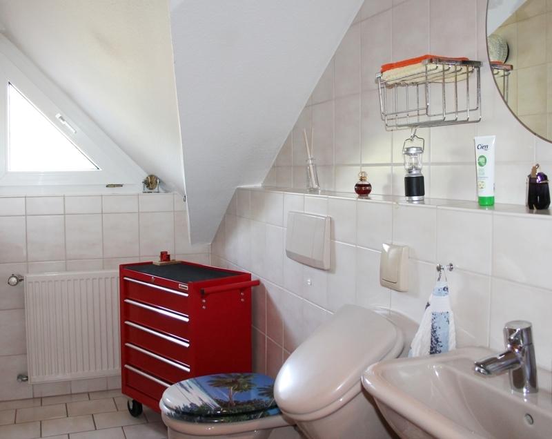 Ganz praktisch: Das Gäste-WC