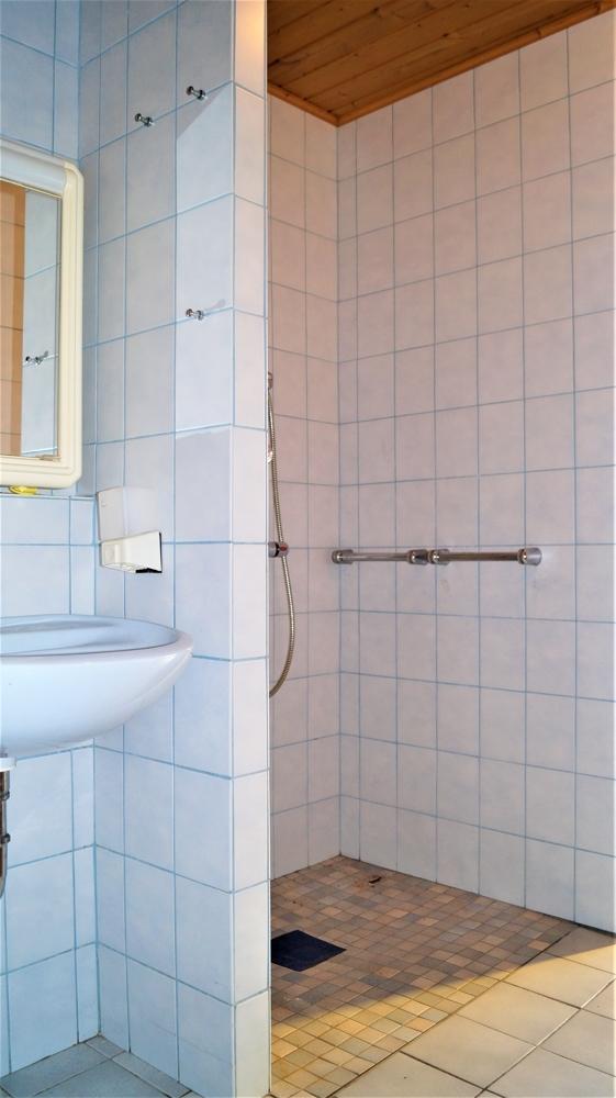 Behindertengerechtes WC mit Dusche