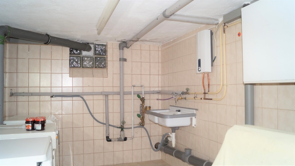 Waschküche im Kellergeschoss