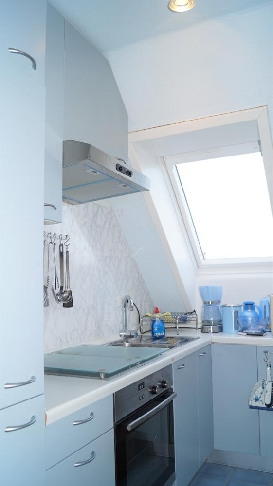 Küche im Obergeschoss rechts