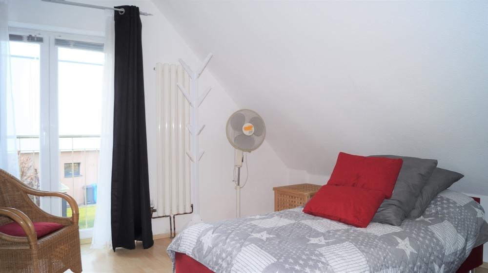 Schlafzimmer im Obergeschoss rechts